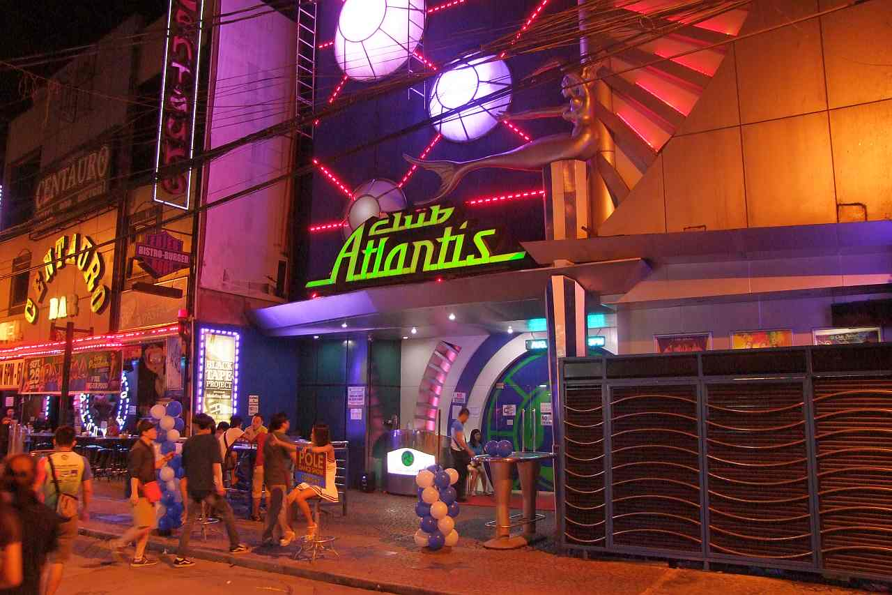 Angeles City - Club Atlantis - Barfine